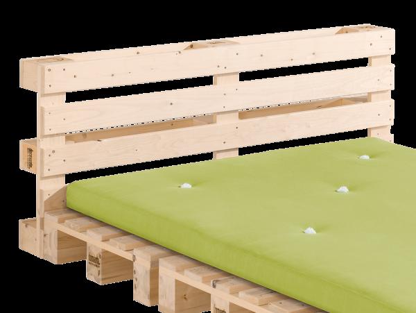 Rückenlehne Palette für Bett PALIA