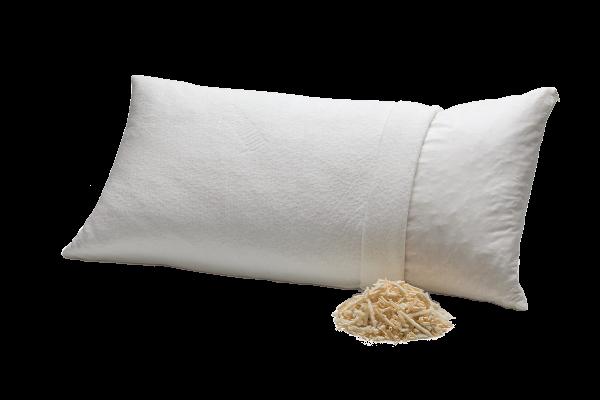 Zirbenspäne und Naturlatex, Naturschlafkissen von dormiente