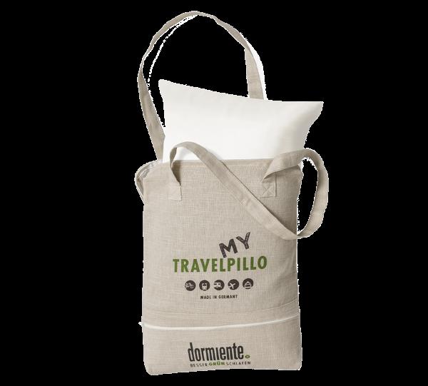 Travelpillo weiß mit Tragetasche