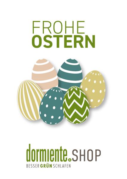 dormiente Geschenkgutschein für Ostern